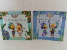 Adorable Set 4 of Two 'Fifi & the Flowertots' Glossy Bedtime Story Books